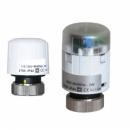 Motoros szelep termoelektromos 24V - 24V/0-10V