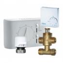 Fan-coil termosztátok, termosztátok, higrosztátok, hidraulikus szelepek