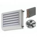 XT-HD axiálventilátoros hűtő-fűtő thermoventilátor meleg-hideg vizes kaloriferrel