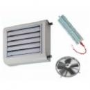 XT-HE axiálventilátoros thermoventilátor 230V elektromos fűtőbetéttel