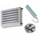 XT-HFT axiálventilátoros thermoventilátor 400V elektromos fűtőbetéttel